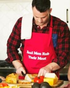 meat rubbing
