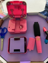 The extension kit (and my scissors not included)